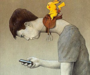 pokemon, pikachu, and pokemon go image