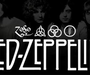 led zeppelin, rock, and ledzeppelin image