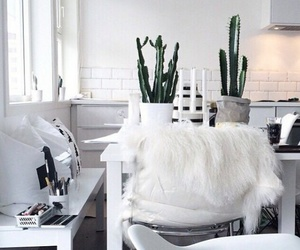 white, decor, and room image