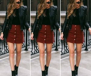 clothes, dressy, and fall image