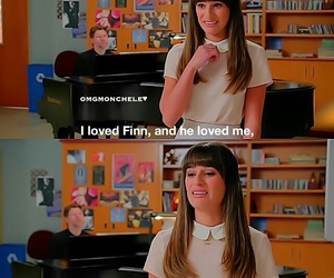 cry, rachel berry, and glee image