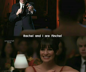 glee, finchel, and finn image