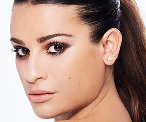 lea michele and byrdie beauty image