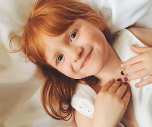 baby, redhead, and cute image