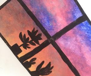 acrylic, landscape, and painting image