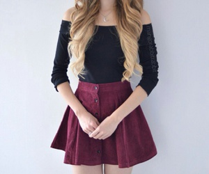 black, hipster, and outfit inspirations image