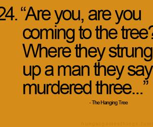 katniss, mockingjay, and the hanging tree image