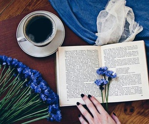beautiful, blue, and book image