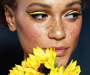 flowers, yellow, and beauty image