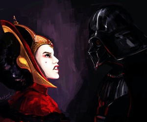 darth vader, Queen, and star wars image