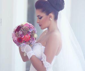 hairstyle and wedding image