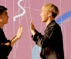 exo, xiumin, and do kyungsoo image