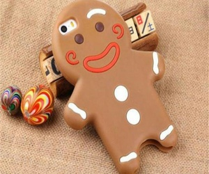 biscuit, case, and christmas image