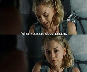 quote, the walking edad, and beth image