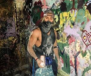 bad boys, dude, and graffiti image