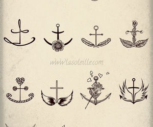 anchor and tattoo image