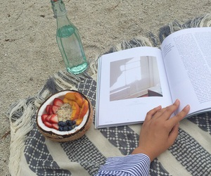 book, food, and cool image
