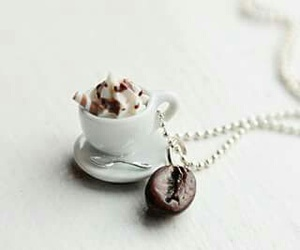 necklace, accessories, and coffee image