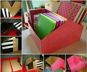 diy, book, and box image