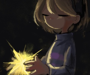 save, frisk, and undertale image