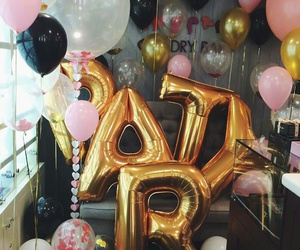 balloons, celebration, and cool image