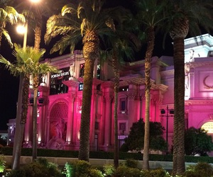 pink and night image