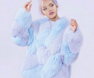 fur, tumblr, and makeup image