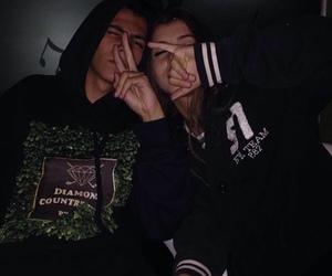 couple, grunge, and icons image