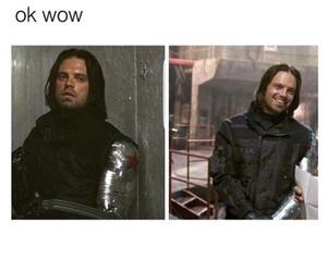 civil war, Marvel, and sebastian stan image