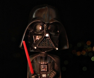 darth vader, front light, and night image