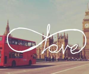 bus, Londres, and infiny image