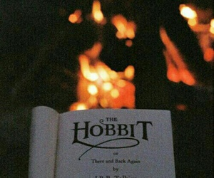 autumn, book, and the hobbit image