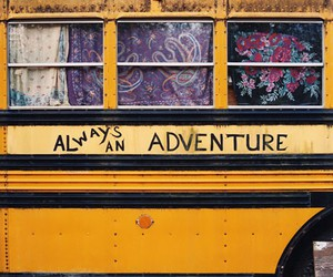 adventure, bohemian, and bus image