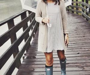 fashion, style, and rain image