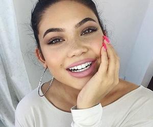 beautiful, makeup, and baddie image
