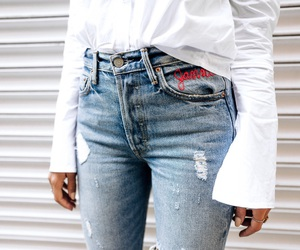 fashion, jeans, and blog image