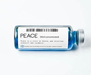 peace and blue image