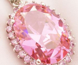 pink, jewelry, and diamond image