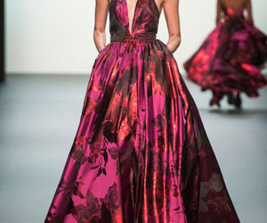fashion, runway, and michael costello image