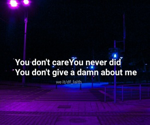 lyric, purple, and quotes image