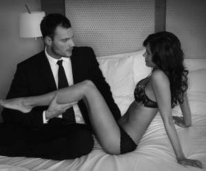 love sex hot bed couple image