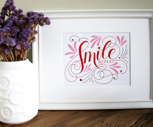 art print, calligraphy, and etsy image