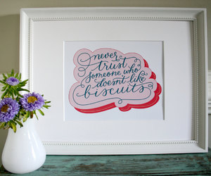 art print, biscuit, and calligraphy image