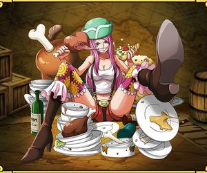 one piece, jewelry bonney, and treasure cruise image