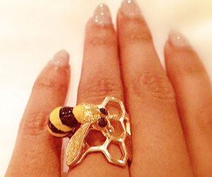 beyoncé, bee, and ring image
