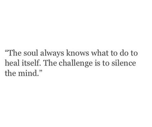 quotes, mind, and soul image