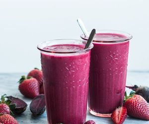 food, drink, and strawberry image