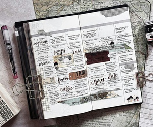 beautiful, planner, and smashbook image