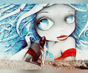 art, street, and streetart image