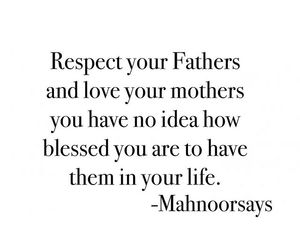 adore, respect, and parents image